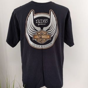 Harley Davidson tee xl 100 yr